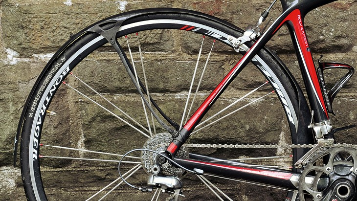 And while they give decent coverage, it's not as full as full length mudguards