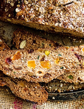 Tuck in to a cinnamon-spiced slice of this delicious muesli loaf