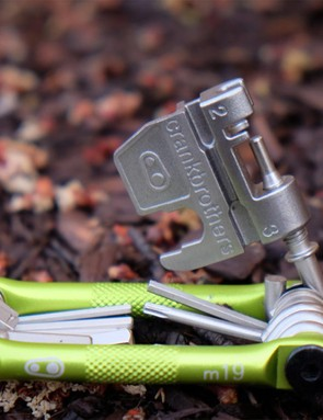 Multi-tools with built-in chain tools are a must for mountain bikers, unless you prefer to carry a standalone chain tool. Either way, be prepared