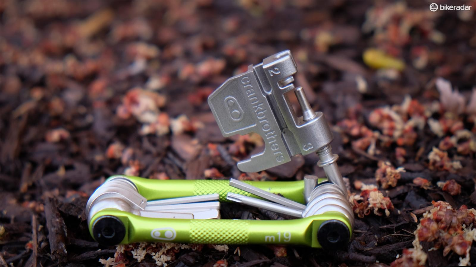 Never leave home without a good multi-tool, preferably one with a built-in chain tool