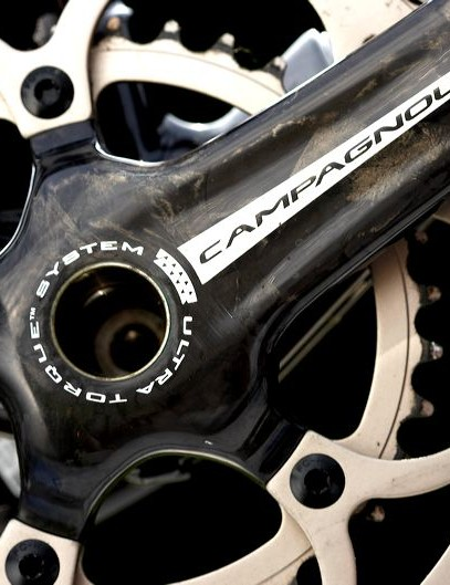 Campagnolo Record Carbon compact chainset