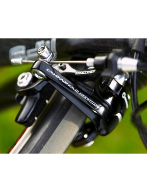 Campagnolo titanium braking hardware