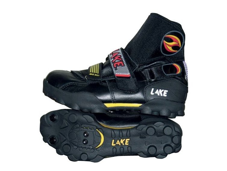 The sole of the Lakes provides a good, safe grip.