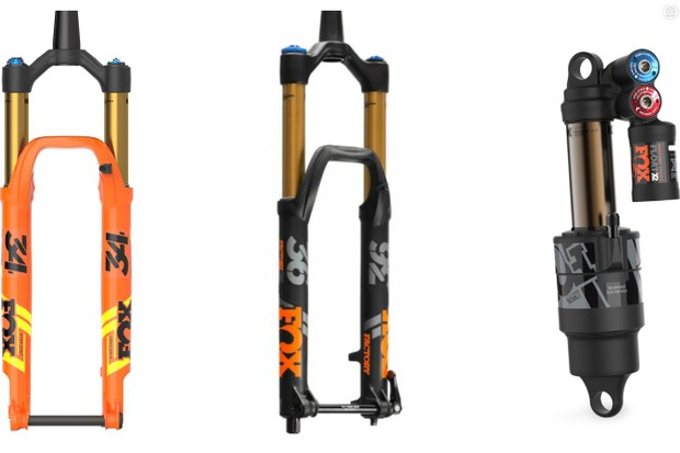 There are updates across the entire Fox suspension range for the 2019 model year