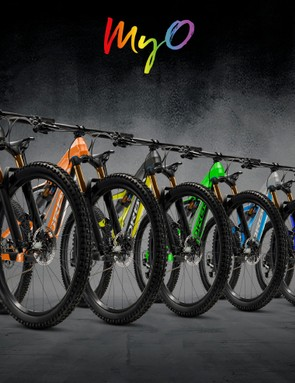 Orbea's My O website lets you build your dream bike in your favourite colour combination