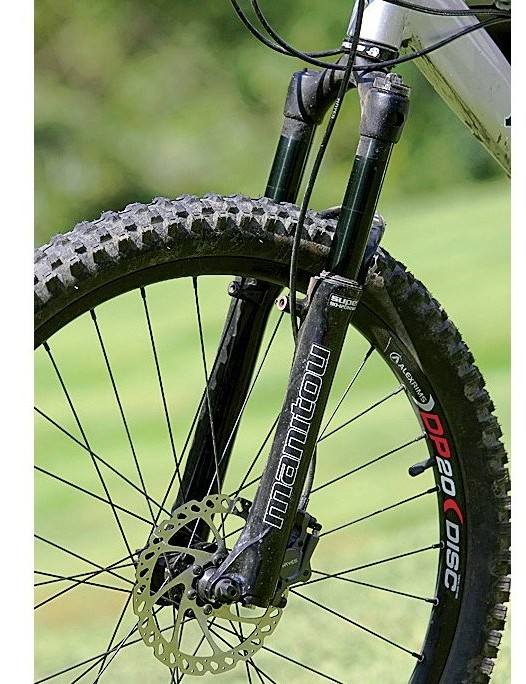 Manitou Black Super fork