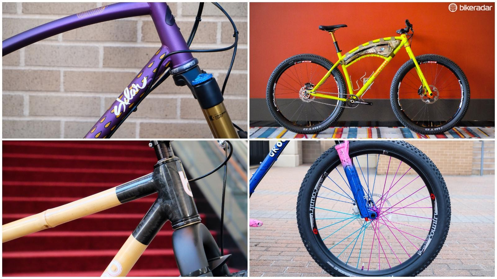 Here's a look at four fantastic mountain bikes from NAHBS 2018