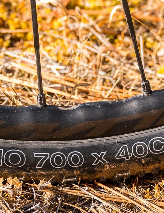 The Nano 40c uses WTB's TCS tubeless-ready casing