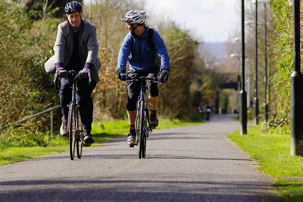 The Bristol to Bath path was the first in the UK