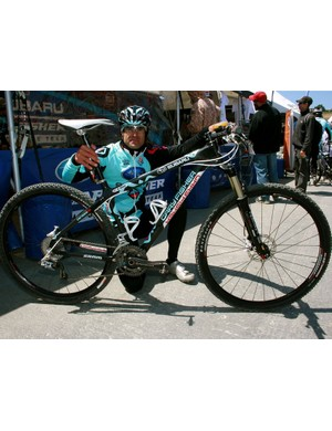 Nat Ross, 2008 Mountain Bike Hall of Fame inductee.