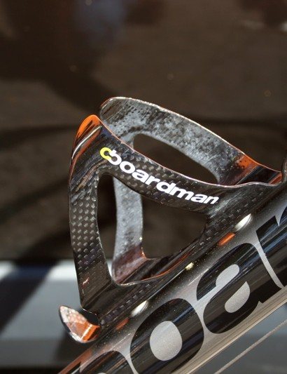 Boardman has a number of branded accessories including these carbon bottle cages.