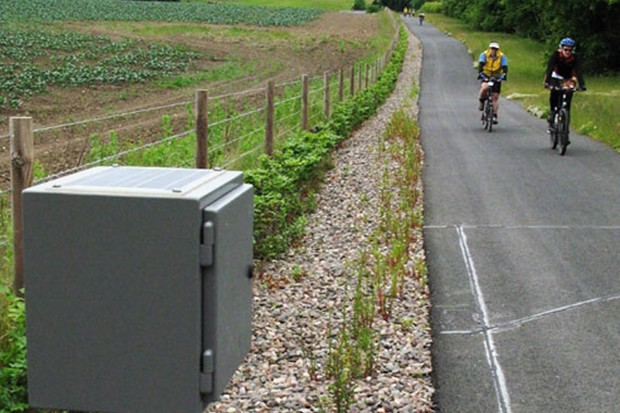 Monitoring equipment has helped quantifiy the growth in National Cycle Network traffic