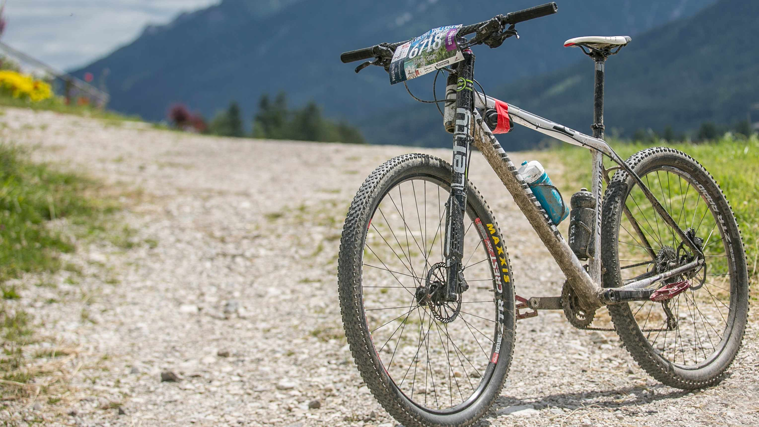 The Cannondale Flash 29: not new and in rather mismatched spec, but damn effective
