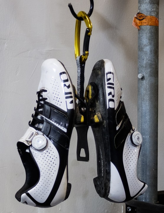 The Neat Cleat is available in either a hanging or wall mounted option