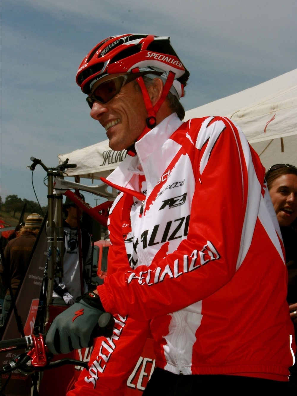 Specialized ambassadorNed Overend, still racing (and winning).