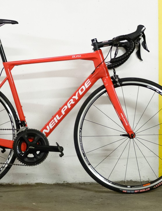 The NeilPryde Bura is the brand's lightweight, all-round road bike
