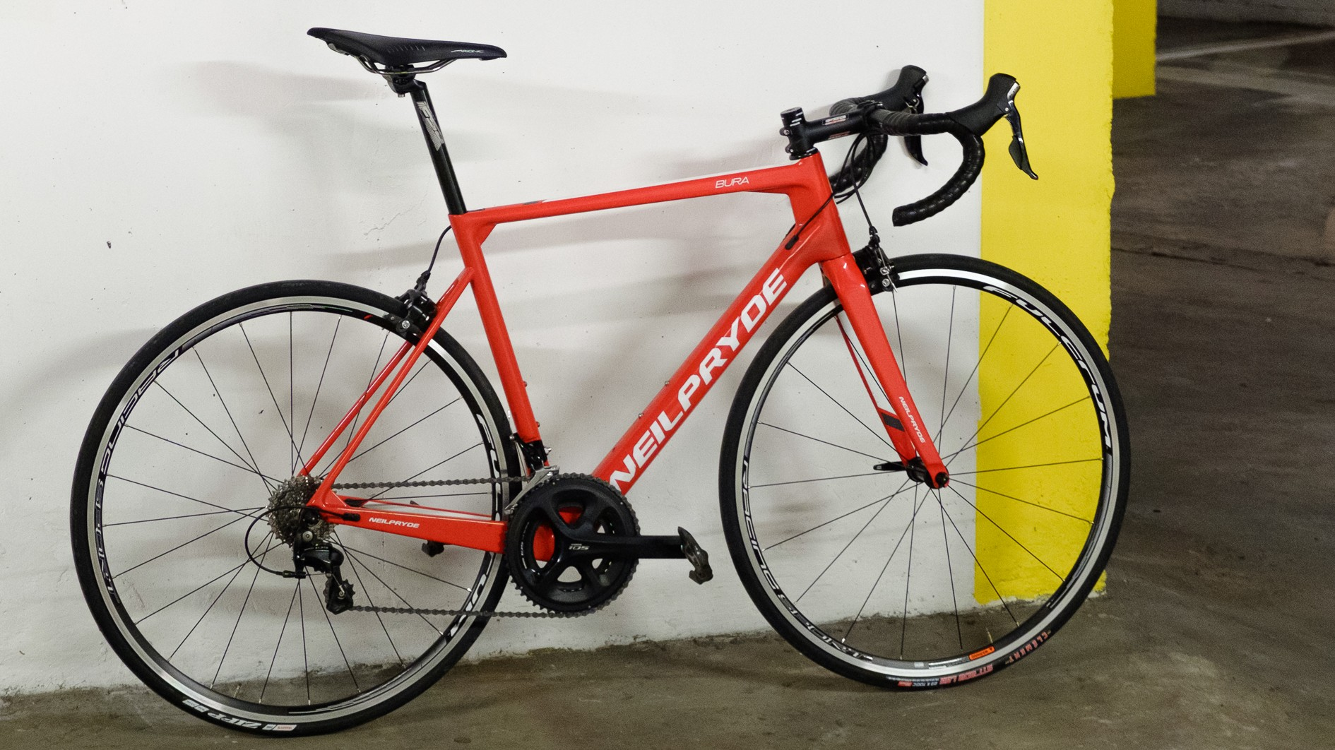My particular bike is the slightly heavier, non-SL version
