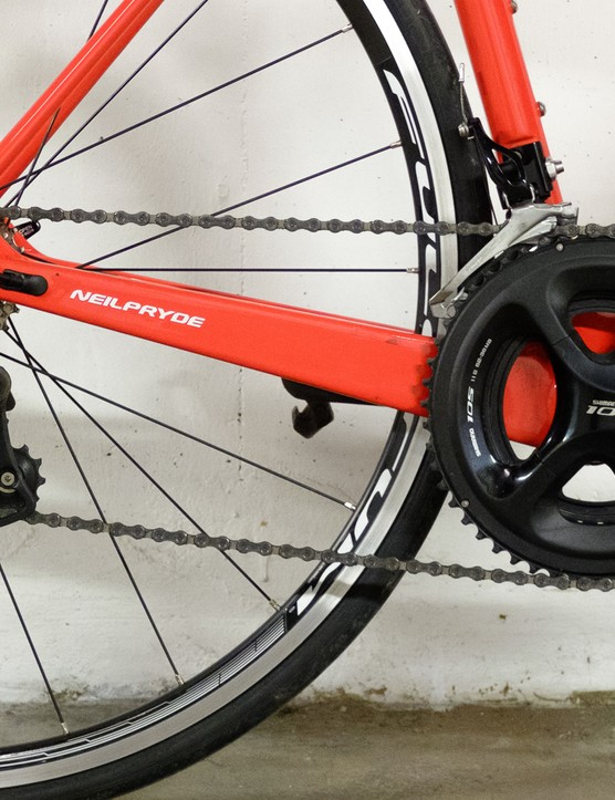 The 105 groupset performed flawlessly throughout the test period