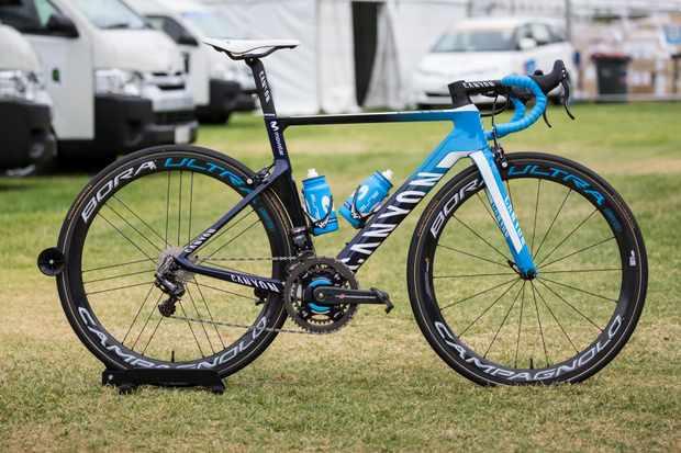 Movistar's bikes are mostly unchanged for 2018