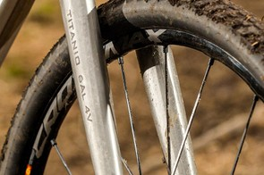 "Our test sample came with 29"" Mavic Crossmax Pro WTS wheels and Pulse Pro tires"