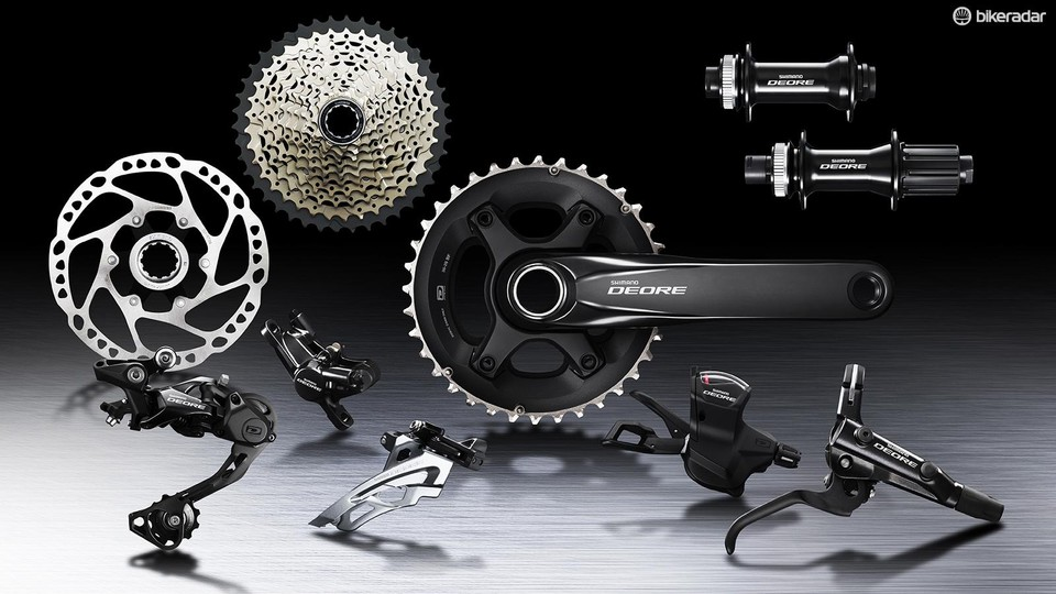aa075f789a9 Shimano has updated its core mountain bike groups, with special attention  given to Deore M6000