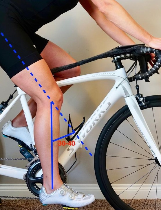 Proper seat height should provide a slight bend in the knee at maximal extension