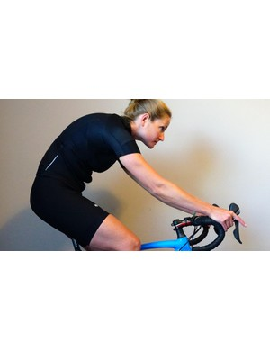 Handlebar location shouldn't force you to reach for your bar, or have any uncomfortable back sensations