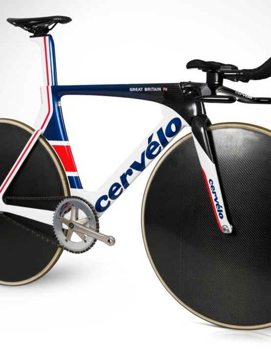 The Cervélo T5GB: very aero