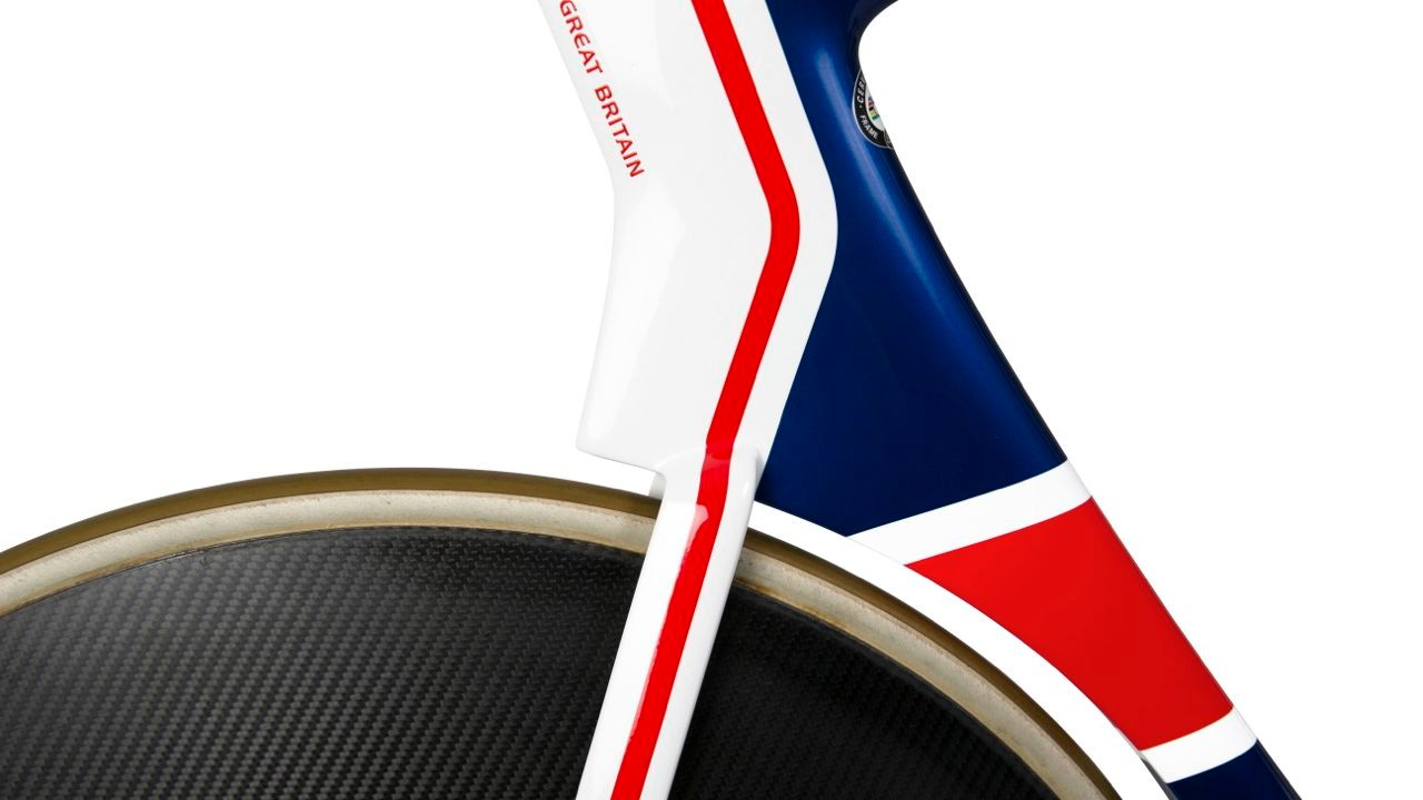 Made in Britain, the new track bike will enter the fray at the Rio 2016 Olympics
