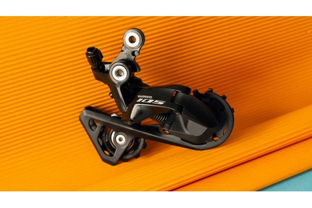 The Shimano R7000 rear derailleur