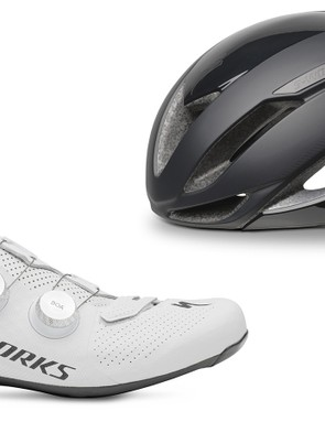 Specialized's new S-Works 7 shoes and Evade II aero helmet