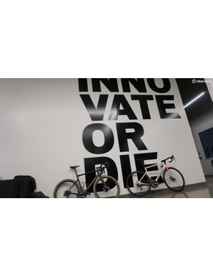 Specialized often introduces new models at the ultimate top end, then trickles the tech down