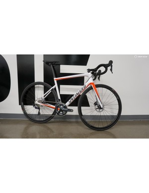 The new Tarmac 10R and 9R bikes use a similar shape as the S-Works Tarmac Disc, but at a fraction of the price