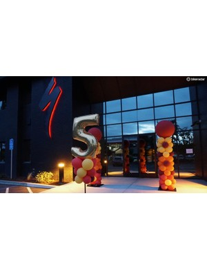 Specialized is celebrating five years of having its own wind tunnel in Morgan Hill, California