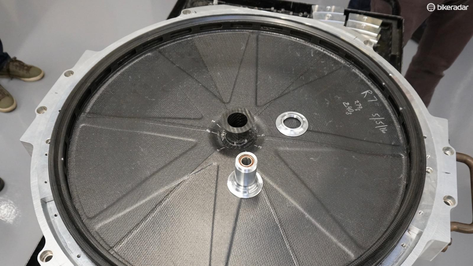 Specialized designed all the tooling for the 321 Disc in house