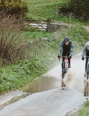 Don't let rain stop play — wet roads can hone skills