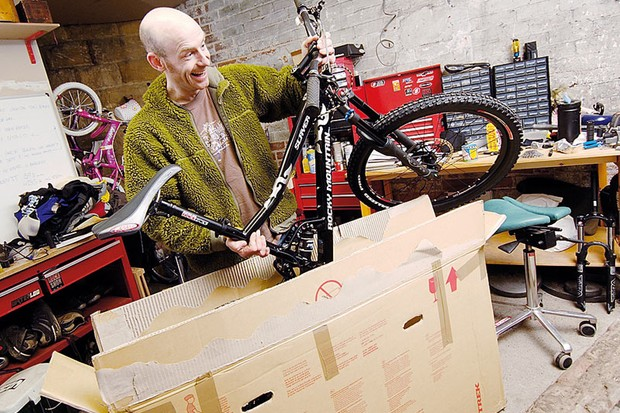 Got a new bike? Here's how to put it together