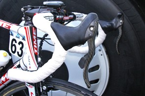 The new levers are decidedly curvier and longer than earlier prototypes.