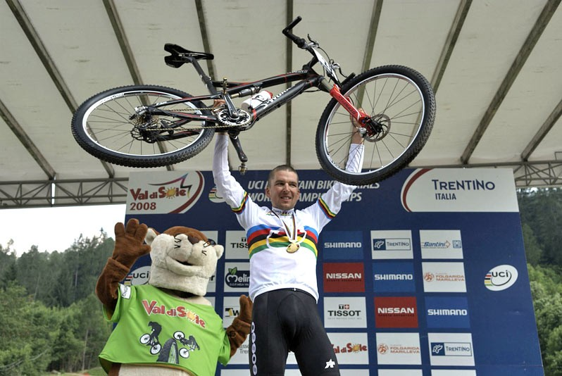 Sauser shows the world his new world beater