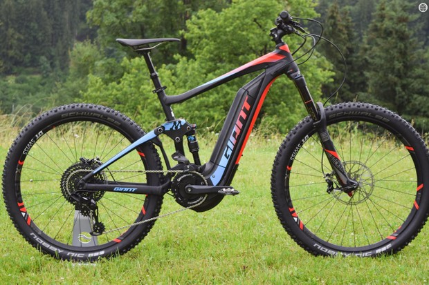 The new Giant Full-E+ headlines a range of e-bikes