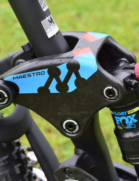 Giant's new Maestro rocker link is a gorgeous lump of forged composite goodness