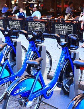The Citi Bike hire scheme in New York is one of the most popular in the US