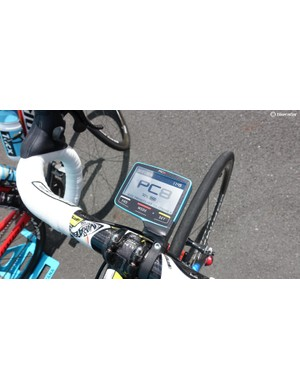 SRM's relatively new PC8 computer has GPS, but not for onboard mapping, just for post-ride analysis