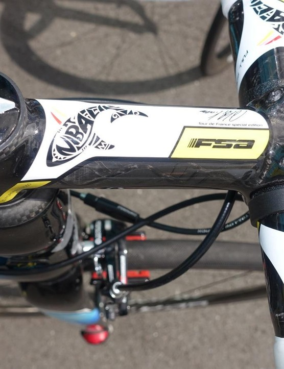 Nibali has his own line of FSA components