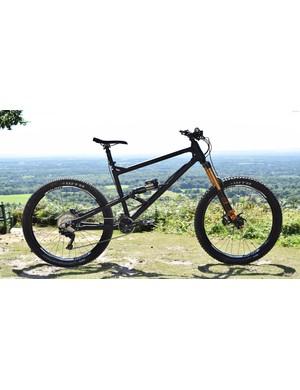 The Geometron pushes the boundaries of modern mountain bike design