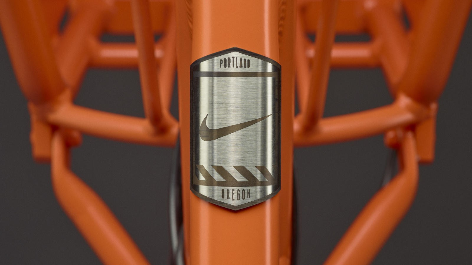 The ubiquitous Swoosh now comes to head tubes with Nike's BIKETOWN bike-share program in Portland, Oregon