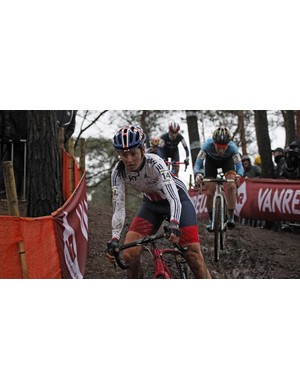 Harris took the cyclocross British National Champion title for 2016