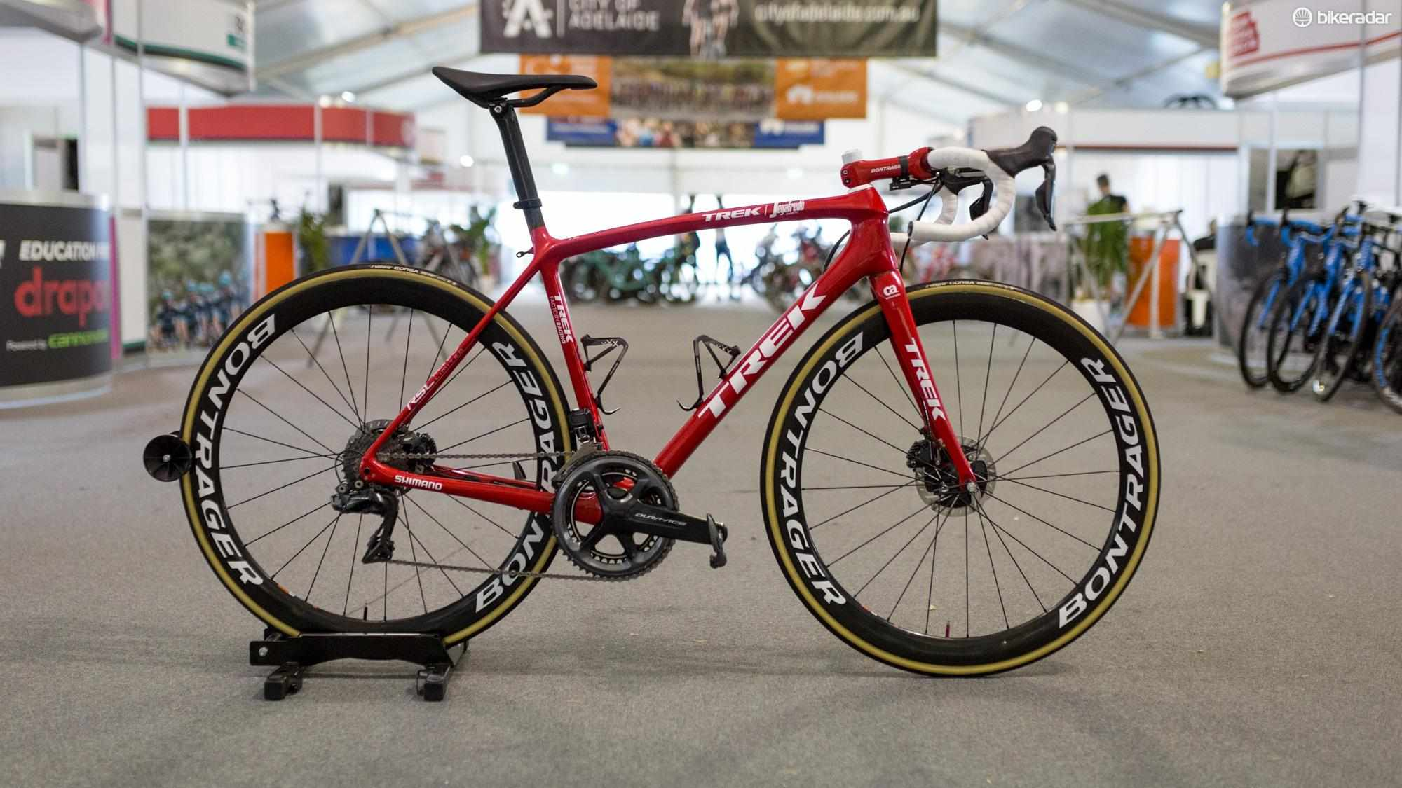 Niklas Eg's new Trek Émonda Disc