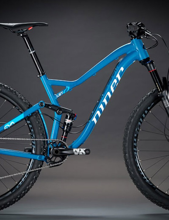 Niner's new JET 9 now comes with an alloy frame