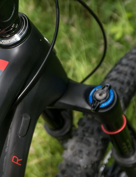 As ever, Niner love their detailing, such as this fantastic advice on the top tube
